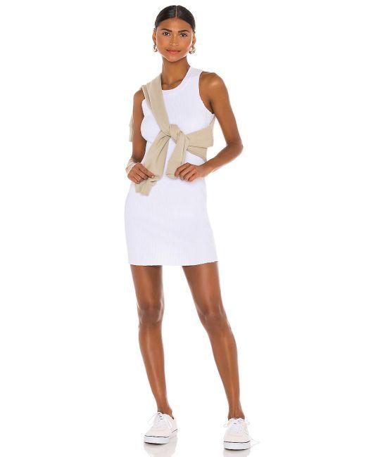 Cotton Citizen Ibiza ミニドレス White