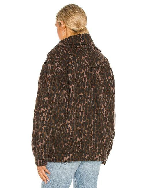Куртка Puffa В Цвете Bronze Leopard One Teaspoon, цвет: Brown