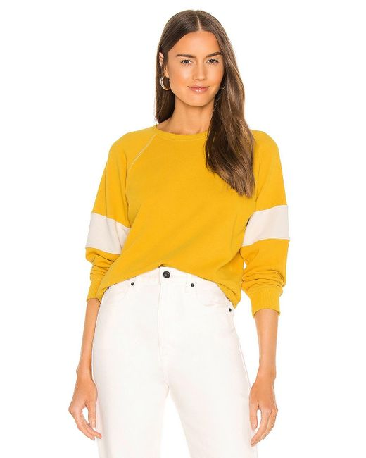 The Great Shrunken スウェットシャツ Yellow