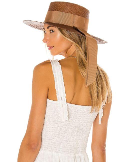 Шляпа Cordovez В Цвете Chocolate & Sable Sensi Studio, цвет: Brown