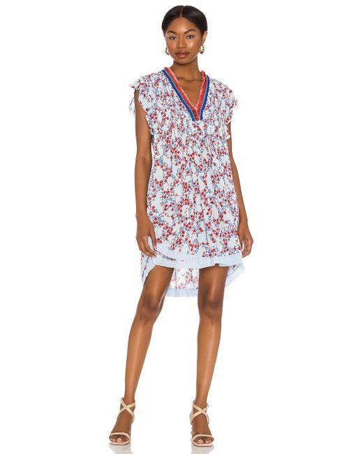 Poupette Sasha ドレス In Blue. Size M.