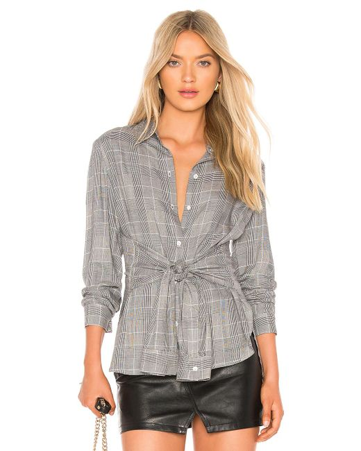Bailey 44 Gray Hold Me Tight Top