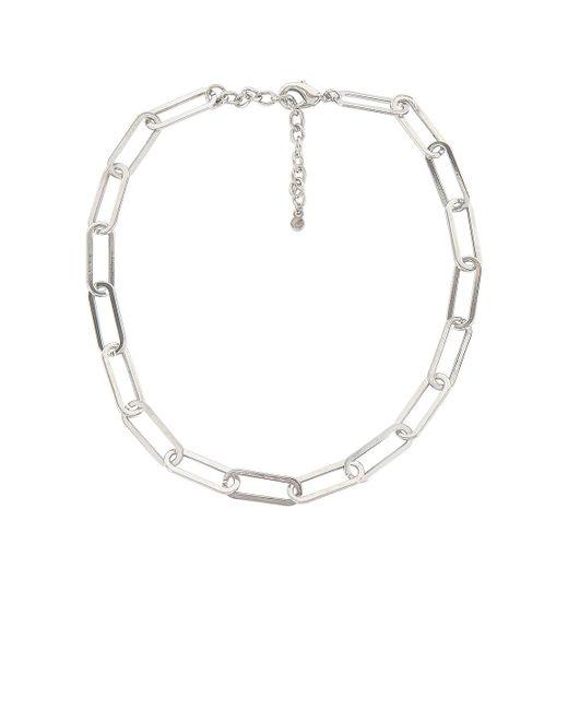 Ожерелье Hera В Цвете Серебряный BaubleBar, цвет: Metallic
