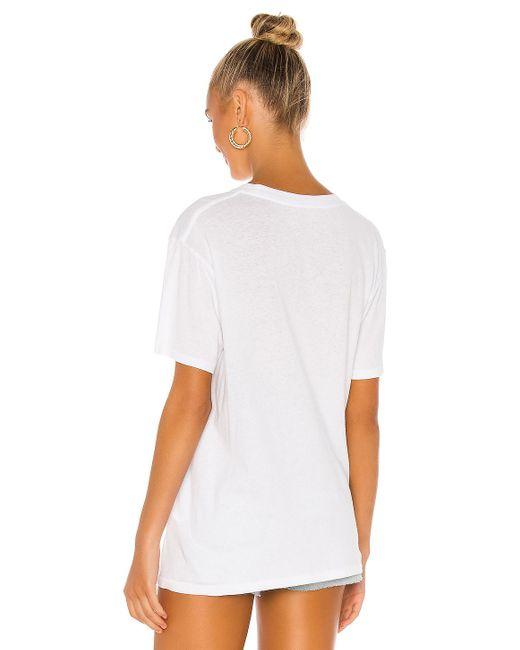 Футболка Ab X To Lili В Цвете Белый Anine Bing, цвет: White