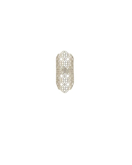 Kendra Scott - Boone Ring In Metallic Silver. - Lyst
