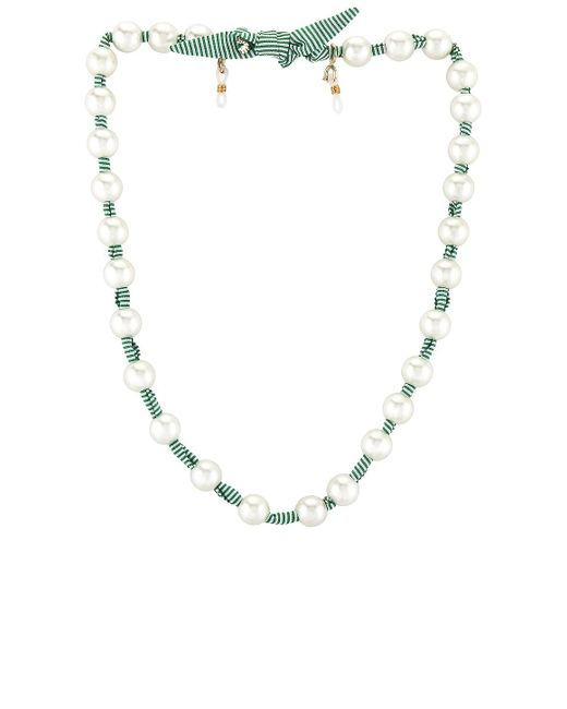 Lele Sadoughi Pearl ネックレス Multicolor