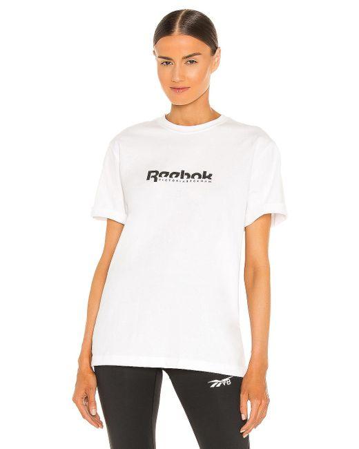 Reebok X Victoria Beckham Tシャツ White