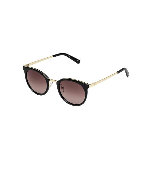 Солнцезащитные Очки No Lurking В Цвете Black & Brown Gradient - Black. Размер All. Le Specs