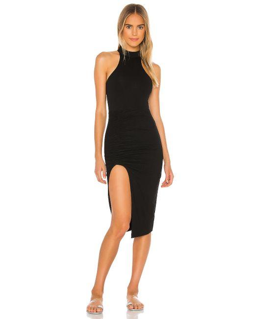 Миди Платье С Разрезом Mansa В Цвете Черный superdown, цвет: Black