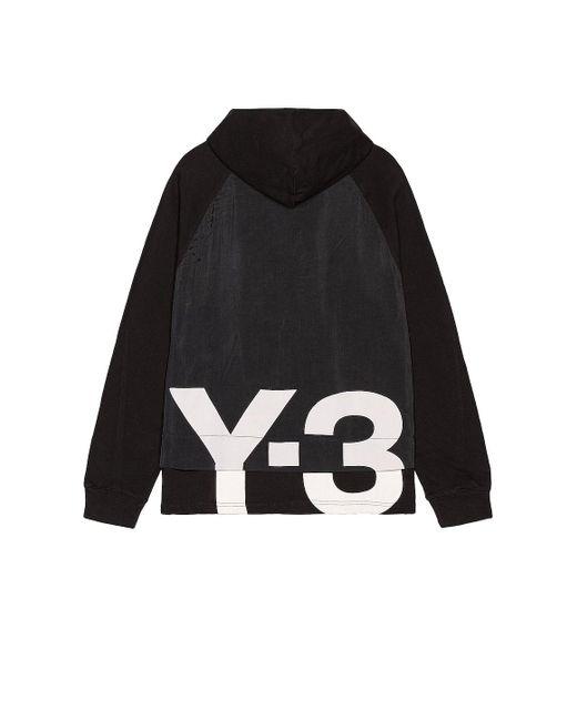 メンズ Y-3 Ch3 Gfx パーカー Black