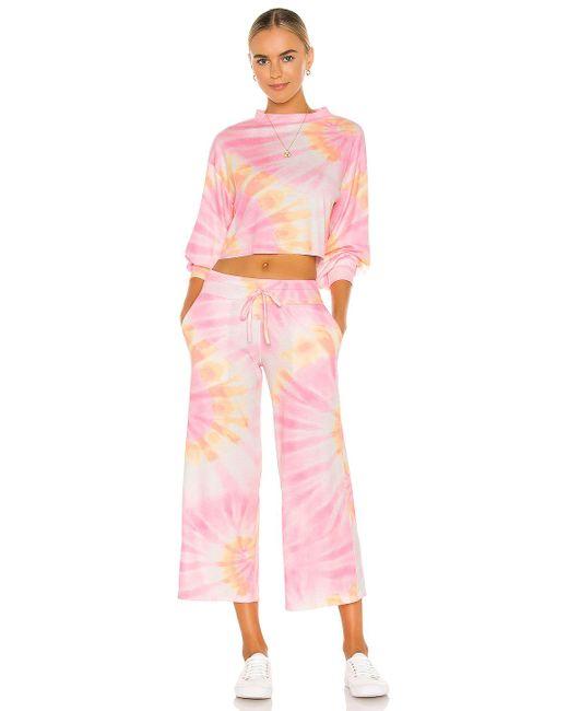 Beach Riot Ava スウェットシャツ Pink