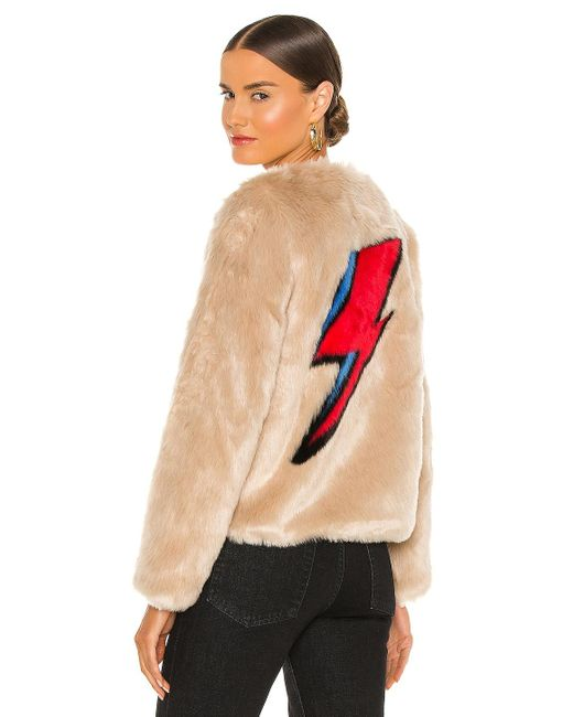 Куртка Flash В Цвете Беж Unreal Fur, цвет: Natural