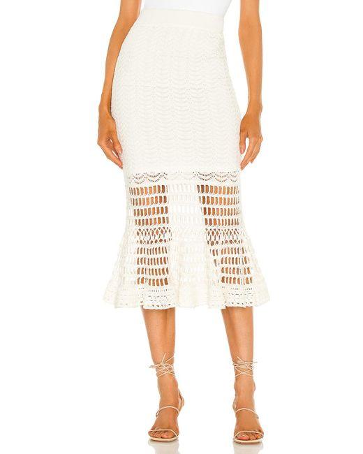 BCBGMAXAZRIA スカート White