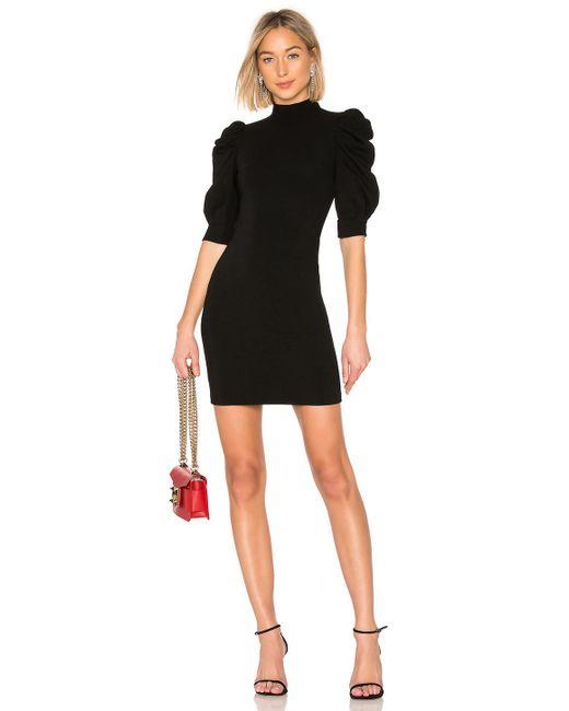 Alice + Olivia - Brenna Dress In Black - Lyst