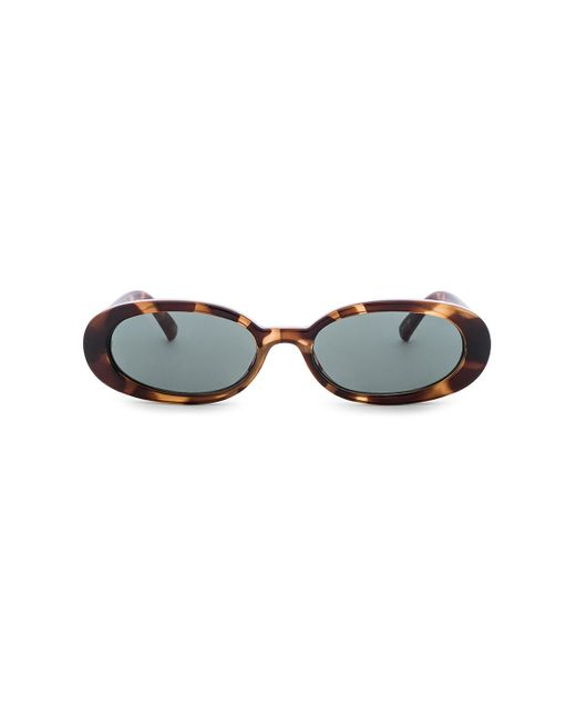 Le Specs Outta Love サングラス Brown