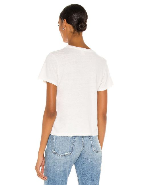 Re/done Shortys Tシャツ White