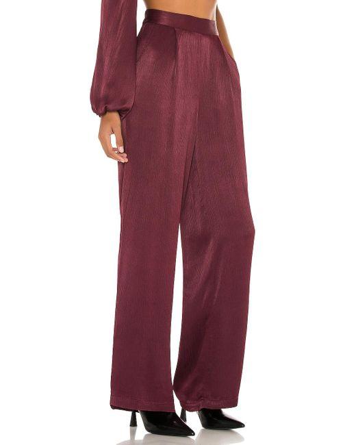 Bobi Sleek Textured Woven パンツ