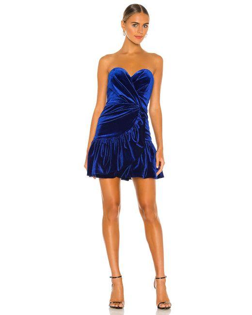 Bardot Tallulah ミニドレス Blue