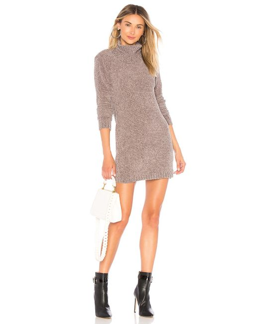 Lovers + Friends - Gray Colby Dress In Charcoal - Lyst