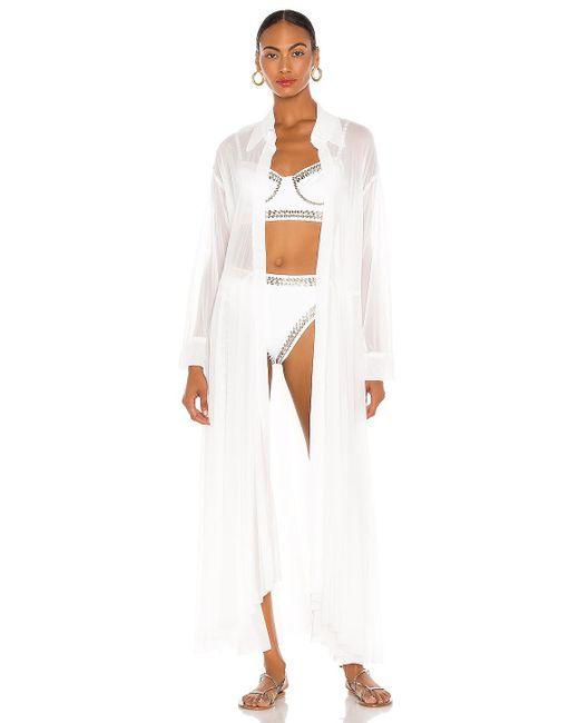 Norma Kamali Oversized 着物 White