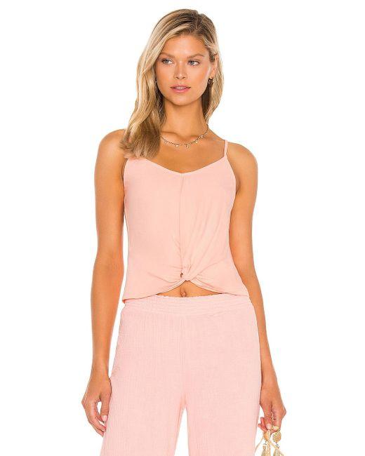 Bobi Light Weight Jersey タンクトップ Pink