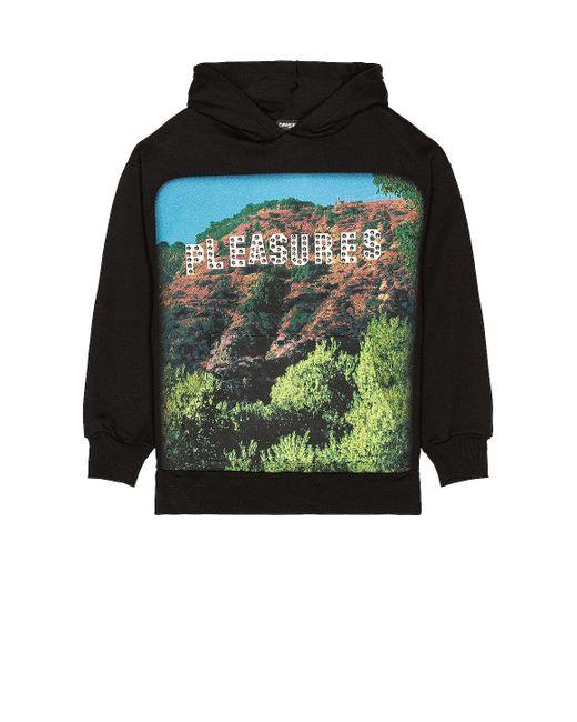 メンズ Pleasures Pleasurewood パーカー Black