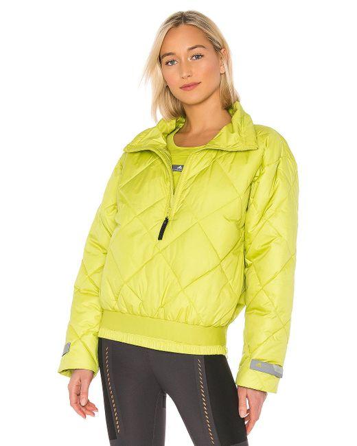Adidas By Stella McCartney Padded Pull On ジャケット Green