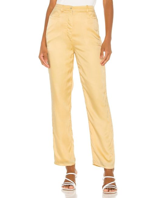 Song of Style Yellow Elise Pant