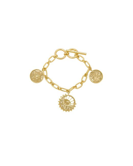 Wanderlust + Co - Metallic Out Of This World Toggle Bracelet - Lyst