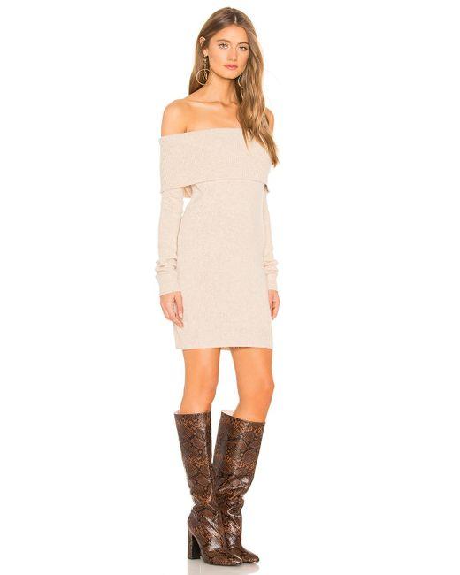 ... Tularosa - Brown Dreamin Sweater Dress - Lyst ... efc3759e6