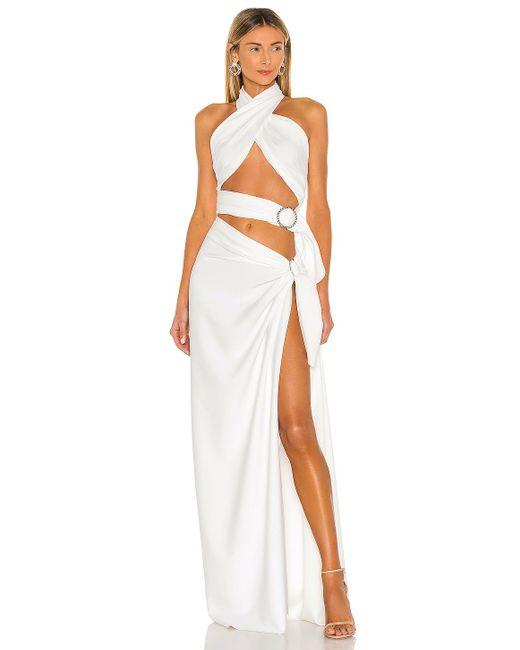 Bronx and Banco Celeopatra ドレス White