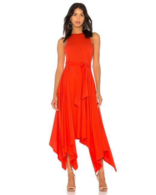 Joie - Damonda Dress In Red - Lyst