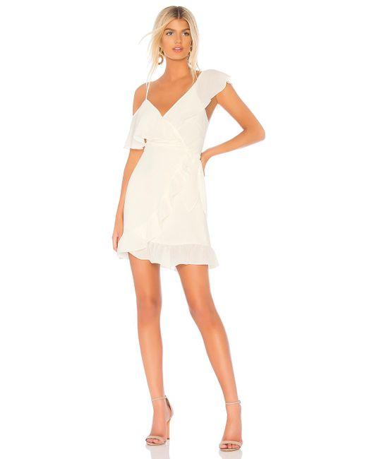 Donna Mizani - White Selena Dress In Cream - Lyst
