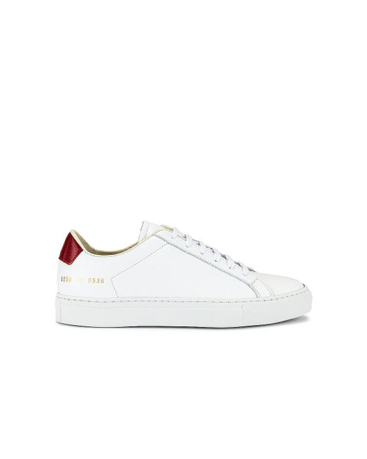 Common Projects Retro Low スニーカー White