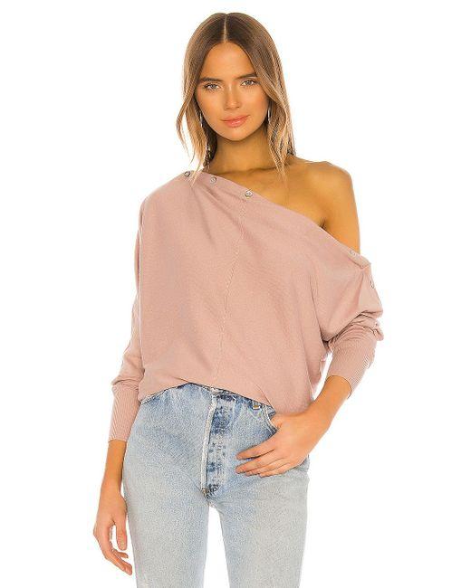 AllSaints ボートネックセーター Pink