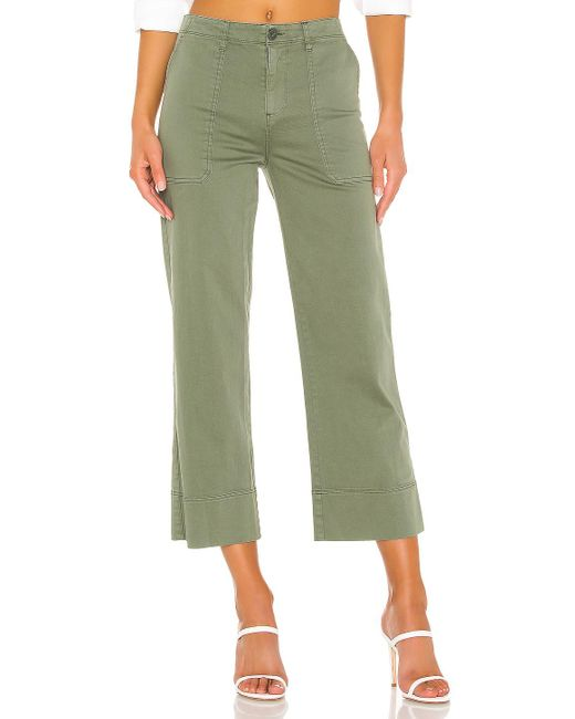Sanctuary Green Unearthed Patch Pocket Pant