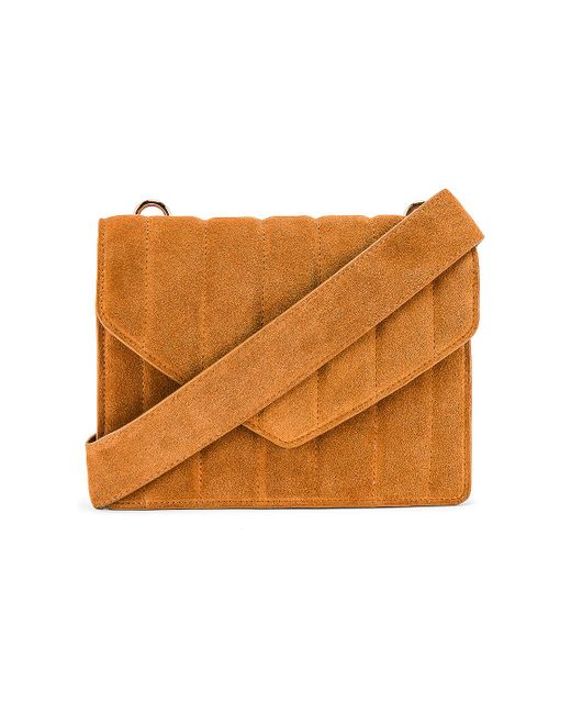 L'academie Irowe エンベロープバッグ Brown