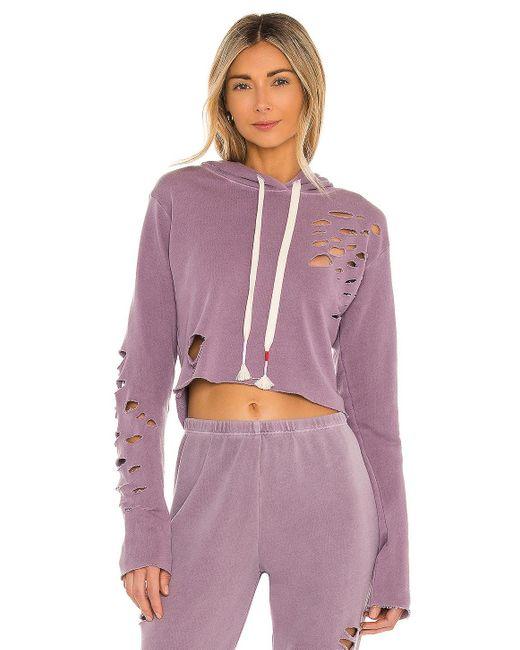 Wildfox Rags To Riches Ivy スウェットシャツ Purple