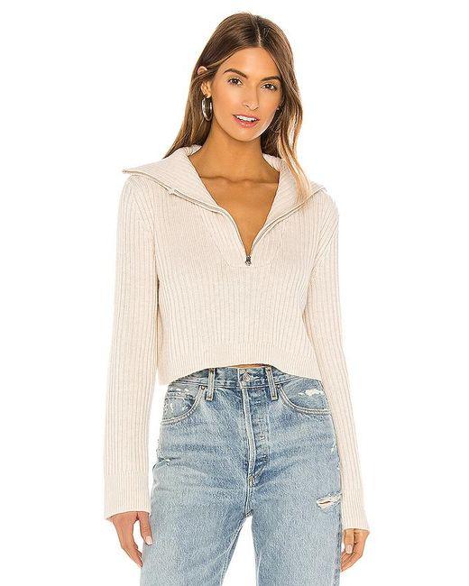 Tularosa Natural Lovelle Zip Up Sweater