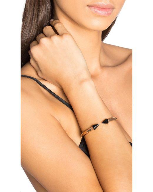 Vita Fede   Black Mini Titan Stone Bracelet   Lyst