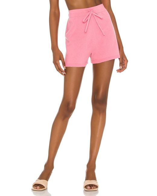 Sanctuary Pink Essential Pull On Short