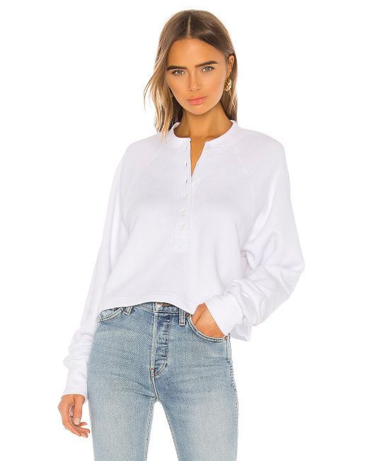 Marissa Webb So Uptight スウェットシャツ White