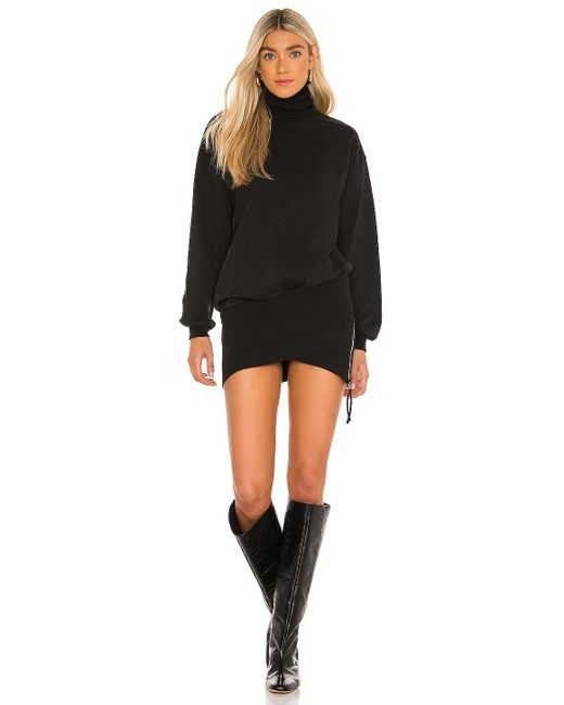 retroféte Black Desreen Sweater Dress