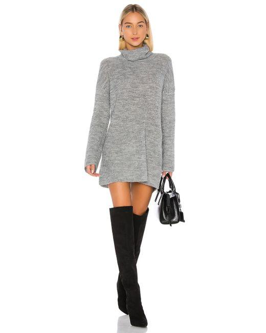 L'academie Sable セータードレス. Size L, Xl. Gray