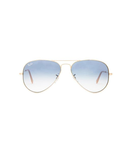 Ray-Ban アビエイター Blue
