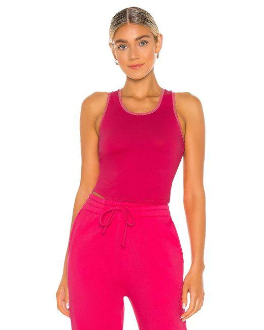 Frankie's Bikinis Messman タンクトップ Pink