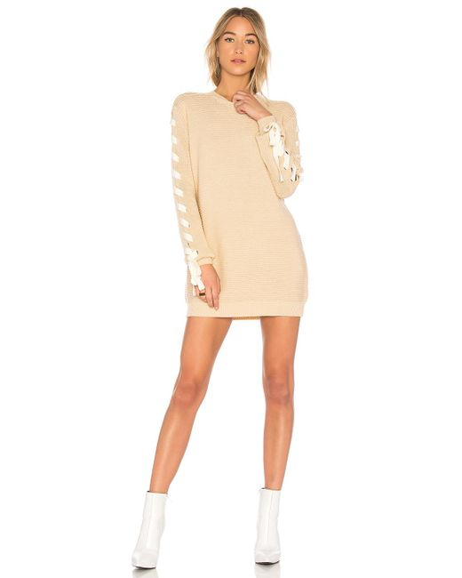 Lovers + Friends - Natural X Revolve Madison Dress - Lyst