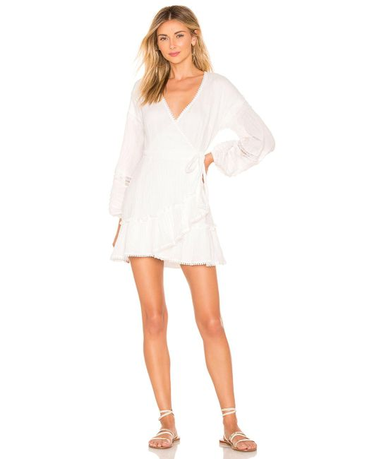 Suboo - White Willow Wrap Dress - Lyst