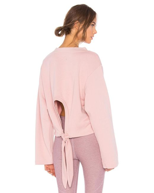 Varley - Pink Weymouth Sweatshirt In Rose - Lyst