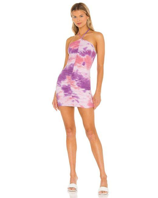 Мини Платье Davey В Цвете Насыщенный Пурпурный superdown, цвет: Purple